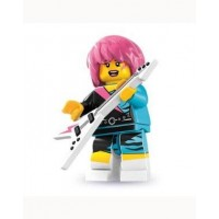Lego Rocker Girl Figure