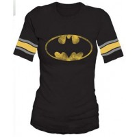 Bat Symbol Hockey Style T-Shirt