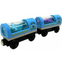 Light-Up Aquarium Cars