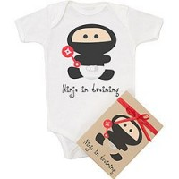 Ninja in Training Organic Onesie