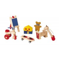 Dollhouse Toys Set