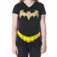 Batgirl Caped T-Shirt
