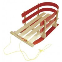Wooden Toddler Sleigh
