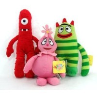 "Yo Gabba Gabba 13"" Plush Set"