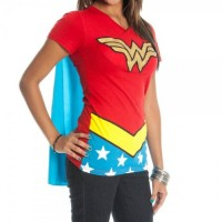 Wonder Woman Caped T-Shirt