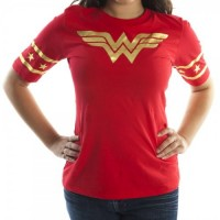 Wonder Woman Hockey Style T-Shirt
