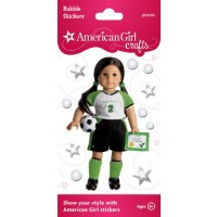 American Girl Soccer Star Stickers