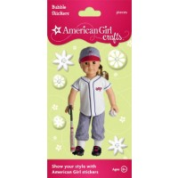 American Girl Softball Stickers