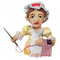 Betsy Ross Finger Puppet &amp; Magnet