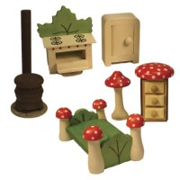 Fairy Forest Kitchen & Bedroom Set