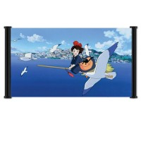 Kiki's Delivery Service Fabric Wall Scroll