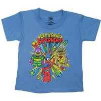 Yo Gabba Gabba Let's Play Superheroes T-Shirt