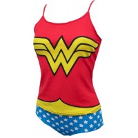 Wonder Woman Cami & Panty Set