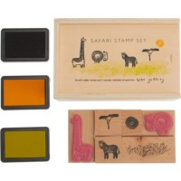 Jungle Animals Stamp Set