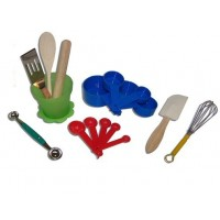 Little Cook Kid's Kitchen Tool Kit