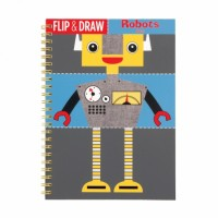 Robots Flip And Draw
