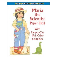 Maria the Scientist Paper Doll