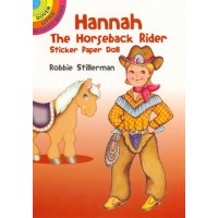 Hannah the Horseback Rider Sticker Doll