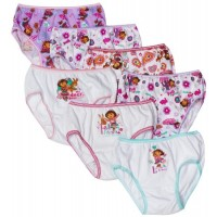 Dora the Explorer Fall Friends Underwear 7-Pack