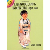 Little Woodlands Indian Girl Paper Doll