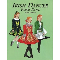 Irish Dancer Paper Doll