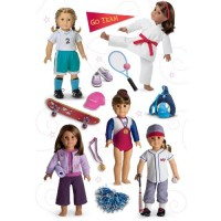American Girl Sports Doll Stickers