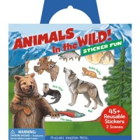 Animals in the Wild Sticker Tote