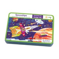 Spaceships Magnetic Design Set