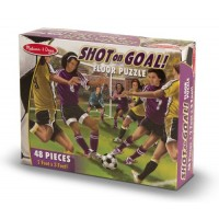 Shot-On-Goal Floor Puzzle