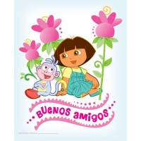 Dora the Explorer Buenos Amigos Poster