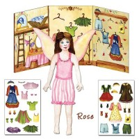 Fairy Rose Paper Dolls