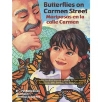 Butterflies on Carmen Street/ Mariposas en la calle Carmen