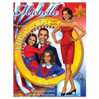First Lady Michelle Obama Paper Dolls