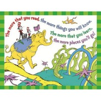 "Dr. Seuss ""The More That You Read"" Poster"