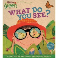 What Do You See?: A Lift-the-Flap Book About Endangered Animals