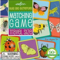 Bugs and Butterfiles Travel Matching Game