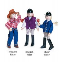 Lucky Horseshoe English Rider Doll