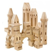 Wood Castle Blocks