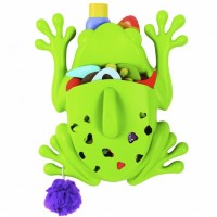 Green Frog Bath Toy Scoop