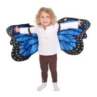 Blue Morpho Plush Butterfly Wings