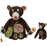 Daddy and Baby Bear Interactive Playset