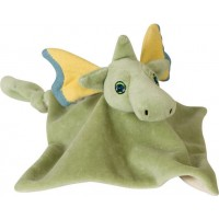 Puff, the Magic Dragon Puppet and Blanket Friend