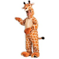 Plush Giraffe Costume