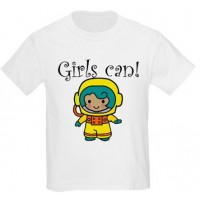 Girls Can! Astronaut T-Shirt