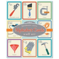 Hardware Store Alphabet Wall Cards