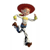 Cowgirl Jessie Giant Wall Decal