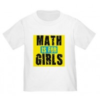 Math Is For Girls T-Shirt