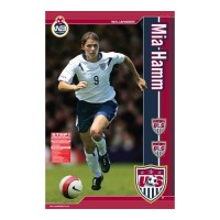 Mia Hamm Life-Size Wall Sticker