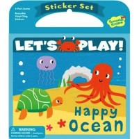 Happy Ocean Reusable Sticker Set