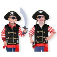 Melissa and Doug Pirate Costume Set